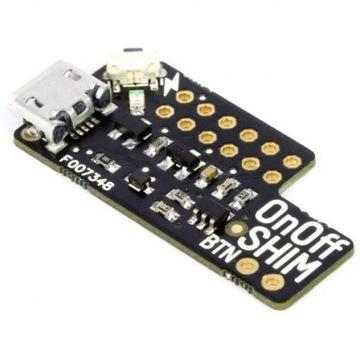 OnOff SHIM - włącznik/wyłącznik - Raspberry Pi