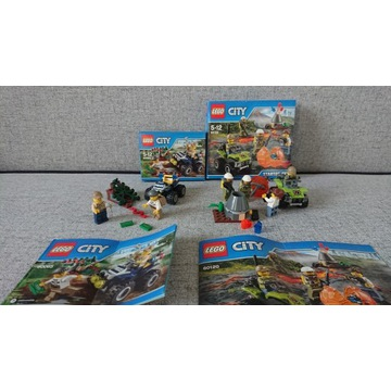 Lego City policja wykopaliska dwa zestawy