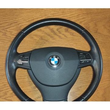 Kierownica z poduszką kompletna BMW F10 F11 F01