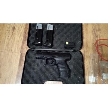 Pistolet na kule gumowe Walther PPQ plus akcesoria