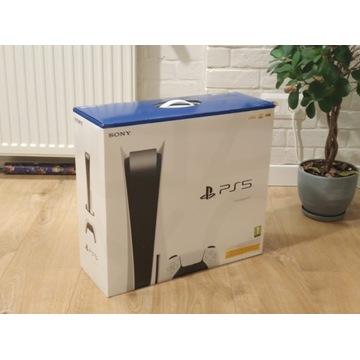 Sony Play Station 5 PS5 z napędem