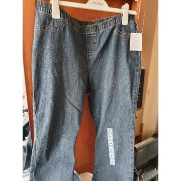 Leginsy spodnie stretch 48
