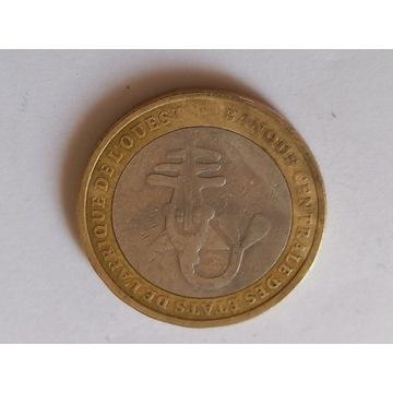 Obiegowa moneta 500 FCFA 2004 r