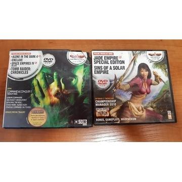Zestaw 6 gier - Jade Empire, Tomb Raider, Enclave