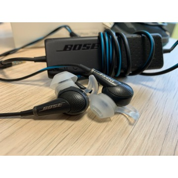 Bose QuiteComfort 20 do pracy lub muzyki