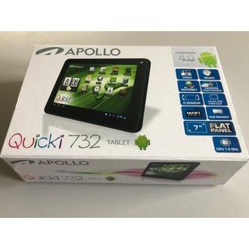 Tablet APOLLO Quicki 732 czarny