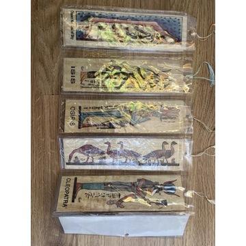 Zakładki do książki 5sz ORYGINALNE Z EGIPTU papiru