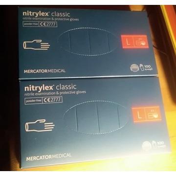 Rękawiczki Nitrylowe Nitrylex Classic 200 szt