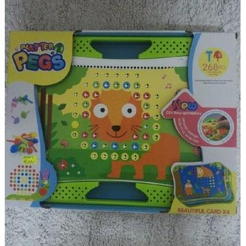 Zabawka mozaika zwierzątka 268 elementów