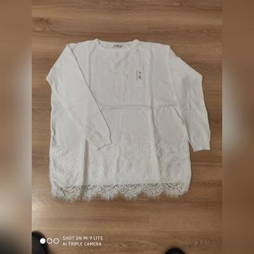 Sweterek śmietankowy Xl/XXL