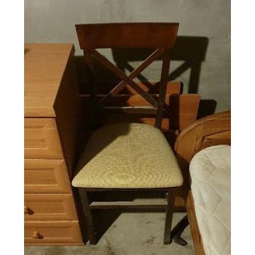 Krzesła drewniane x4