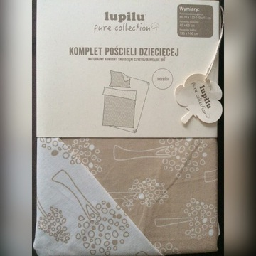 Lupilu pure collection komplet pościeli nowy