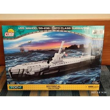 Cobi okręt USS Wahoo SS-238 4806 NOWY UNIKAT