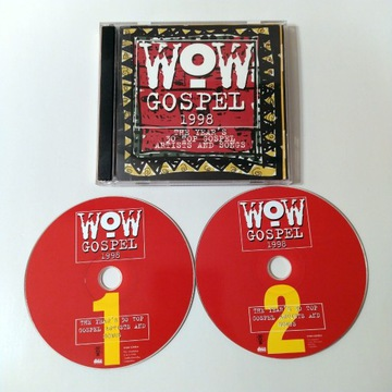 WOW Gospel 1998 - 2 x CD
