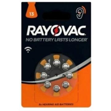 Baterie do aparatów słuchowych RAYOVAC 13 , 48szt.