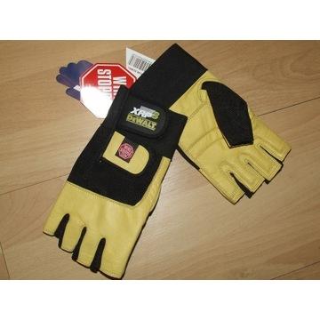 Rękawice rękawiczki Dewalt nowe, skóra !
