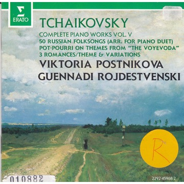 Tchaikovsky / Piano works vol.5 / Postnikova
