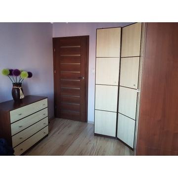 Meble BRW Fantazja komplet sypialnia szafa łóżko