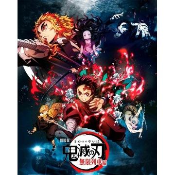Plakat anime mangi Demon Slayer Kimetsu no Yaiba