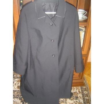 Płaszcz jesienny wiosenny czarny 4XL, 5XL