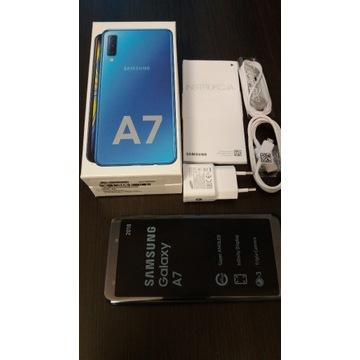Smartfon Samsung Galaxy A7 4 GB / 64 GB niebieski