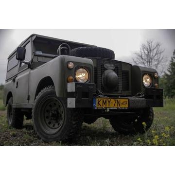 Land Rover series II A rocznik 1970