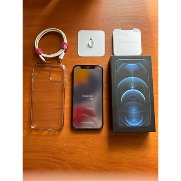 Iphone 12 PRO 128 GB Pacific Blue, bateria 96%