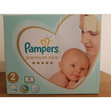 Pieluszki Pampers Premium Care 148 szt Rozmiar 2