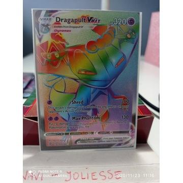Pokemon Dragapult VMax Rainbow R M/NM 197/192 SS