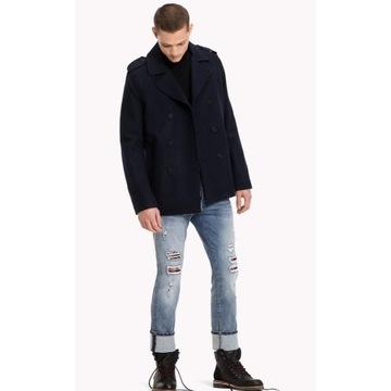 Tommy Hilfiger krótki płaszcz rozmiar 2XL