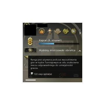 CS:GO-Konto steam z rangą DMG.