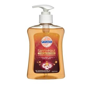 Sagrotan mydło w płynie mocne walce z bakteriami