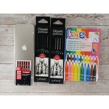 Zestaw 6 ołówków grafitowych Bruynzeel + Majewski