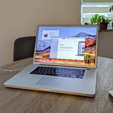 """Macbook Pro 17"""" Matowy i7-2760QM/16GB/256GB SSD"""