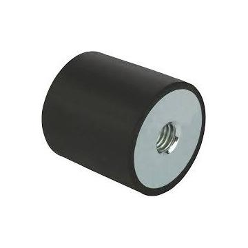Amortyzator metalowo-gumowy Typ C 15X15 M5X5 55NR