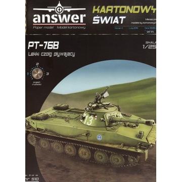 Answer Polski czołg pływający PT- 76 B2