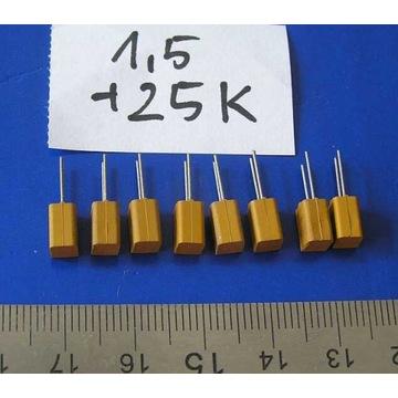 kondensatory tantalowe 1,5 25K