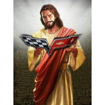 Emblemat Znaczek Corvette C6