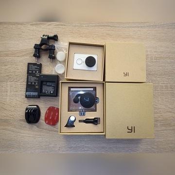Kamera sportowa Xiaomi yi Action, zestaw