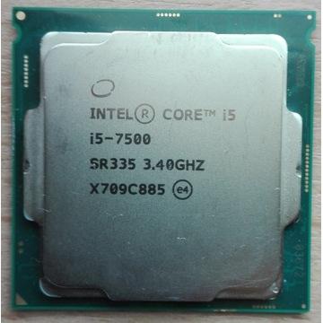 Intel Core i5 7500 3,4 GHz Kaby Lake Uszkodzony?