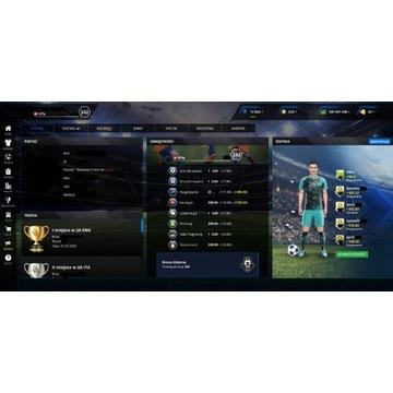 Footballteam/ Football team Konto 242ovr PL serwer