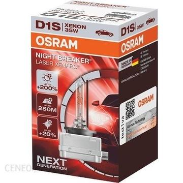 OSRAM NIGHT BREAKER LASER NEXT GEN +200% D1S