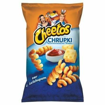 CHIPSY CHEETOS SER KETCHUP  145g