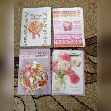 Karnet serdeczne życzenia z koperta