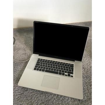 """Macbook 2011 17 """" cali A1297"""