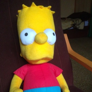 Pluszowy Bart Simpson