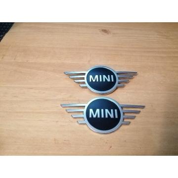 Emblemat Mini Cooper F56 F57 F54 Clubman przód