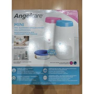 Angelcare Nappy Bin Mini niebieski kosz na pieluch