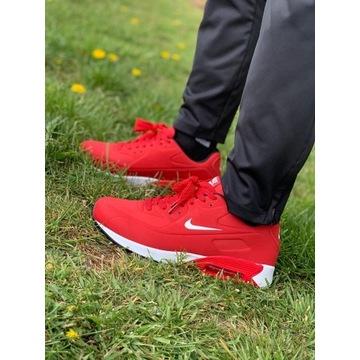 Nike buty czerwone męskie