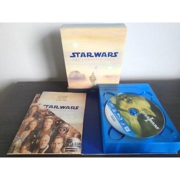 Kolekcja STAR WARS 1-6 BLU-RAY